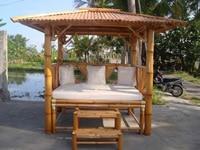 Piscine O Jardin | Gazebo en bois - abri de jardin en bambou
