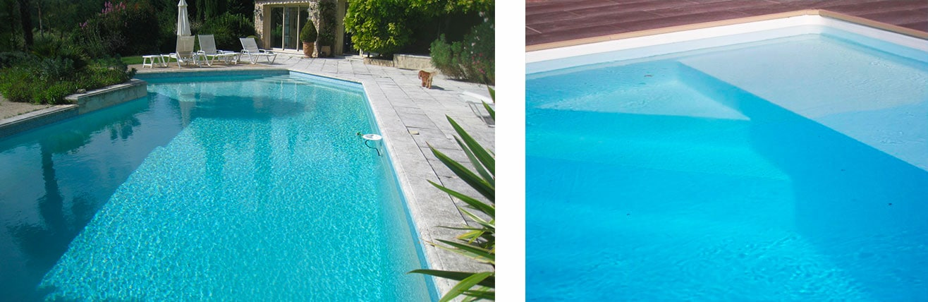 piscine o jardin la piscine liner ou pvc arm de. Black Bedroom Furniture Sets. Home Design Ideas